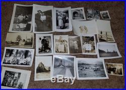 Vintage Black & White Photo Lot 100 Images Family Women Men Children Great Mix