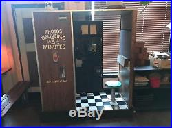 Vintage Black and White Chemical Photo Booth