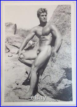 Vintage Bruce Of LA photo of Bud Counts B&W 5 by 7, Stamped on back, Superb