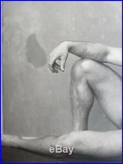 Vintage Charles Atlas Original Photo Body Builder C 1915 Tattoo
