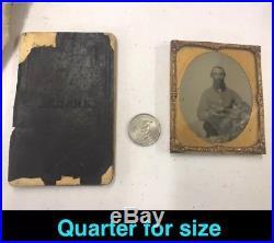 Vintage Civil War Photo Confederate + Bible +Bag-Historic Lot(MUST see/read)