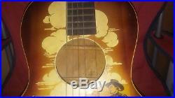Vintage Cowboy Buck Jones and Silver Guitar