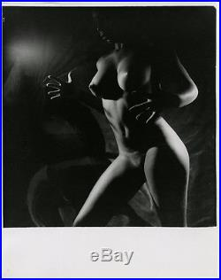 Vintage Erotica Peter Basch Artistic Nude Figural Study Large Format Photograph