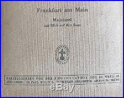Vintage Gelatin Silver Photographs By Dr Paul Wolff Frankfurt Germany 1930's