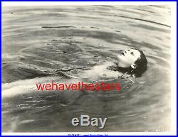 Vintage Hedy Lamarr NUDE'38 ECSTASY Publicity Portrait VERY RARE