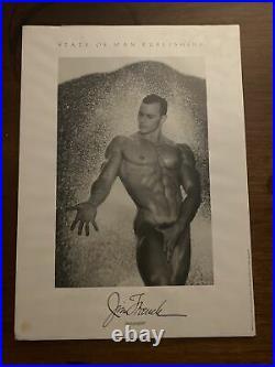 Vintage JIM FRENCH /COLT-John Pruitt photo NUDE MALE, gay/ LGBTQ int. Lg. Print