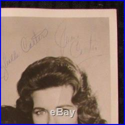 Vintage JUNE HELEN & MAYBELL 3x Signed 8x10 Photo GD+ The Carter Sisters