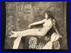 Vintage Large Format Alfred Cheney Johnston Photograph of Doris Podmore