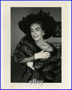 Vintage Large Format Joan Crawford Photograph Eve Arnold Important Magnum 1959