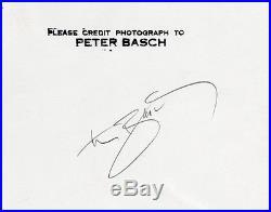 Vintage Large Hand Signed Peter Basch Fine Art Figure Study Photograph Published