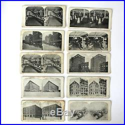 Vintage Lot Stereoscope Photo Cards T. Eaton Company Canada Toronto Winnipeg
