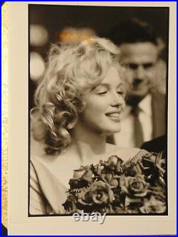Vintage MARILYN MONROE Photo BOB HENRIQUES for MAGNUM PHOTOS 1959 EBBITTS FIELD