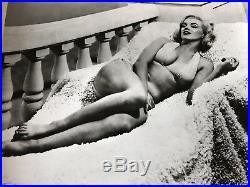 Vintage Marilyn Monroe Bathing Suit Publicity Photo Bikini Hafner 51 Cheesecake