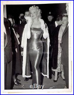 Vintage Marilyn Monroe Photo Cat on a Hot Tin Roof Opening 1955 New York