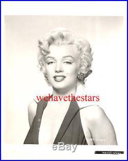 Vintage Marilyn Monroe SEXY HALTER TOP'53 Publicity Portrait