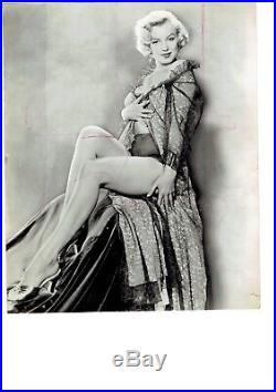 Vintage Marilyn Monroe photo 20th Century Fox photo 1954 Publicity Photo