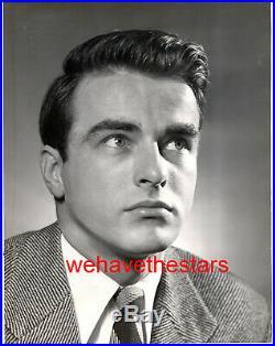 Vintage Montgomery Clift QUITE HANDSOME'48 Publicity Portrait ALFREDO VALENTE