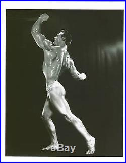 Vintage ORIGINAL JOHN GRIMEK Bodybuilding Photo B+W July 4,1951