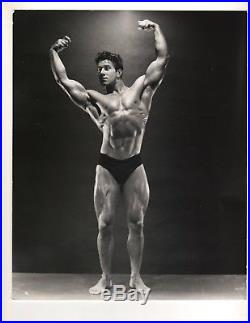 Vintage ORIGINAL REG PARK NABBA MR UNIVERSE Muscle Bodybuilding Photo B+W