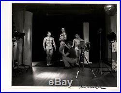 Vintage ORIGINAL RUSS WARNER PHOTO/LALANNE/TOUSLEY/RAY STERN B+W ORIGINAL