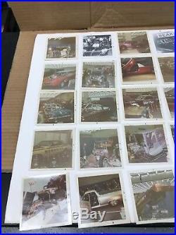 Vintage Original 1960's Detroit Area Car Show Photographs Color And B/w