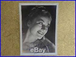 Vintage Original JOAN CRAWFORD 1938 Signed Autographed Portrait Photo WILLINGER