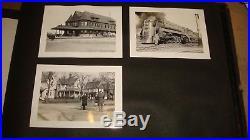 Vintage Original Photo Album 1930's40's Huge 290 Lot Indexed Places Trains Ships