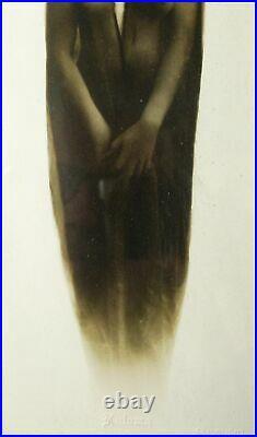 Vintage Original Silver Gelatin Kaloma Print Josephine Earp (wyatt), Framed