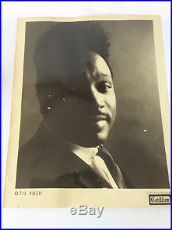 Vintage Otis Rush Cotillion Records Promotional publicity photo Blues