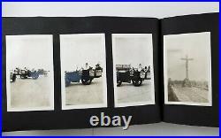 Vintage Photo Album 211 Snapshots People Dogs Beach Car NJ Daytona Beach Florida