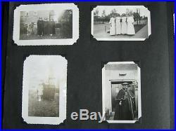 Vintage Photo Albumn with 332 Black & White Photo's 1940's to 1950's Nice Lot