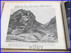 Vintage Photo Book Scenery of The Mount Kongo North Korea(Chosen) 1917 English