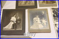 Vintage Photo Lot 1800's And On MUST SEE AWESOME Men Women Families Ancestry