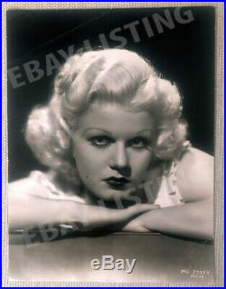 Vintage Photo Of Beautiful Jean Harlow By Clarence S. Bull