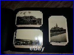 Vintage Photo album Travels in USA! Michigan, Miami. 1927. 103 captioned pictures
