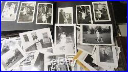 Vintage Photographs Photo Albums 1920'2-40's Sidney Ohio Crown Point Indiana Lot