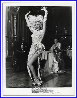 Vintage Press Photo of Marilyn Monroe Show Business