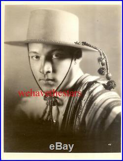 Vintage Rudolph Valentino QUITE HANDSOME'21 FOUR HORSEMEN Publicity Portrait