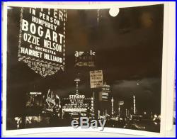 Vintage Times Square Street Photography Bette Davis Strand Theater 1940 Ny Photo