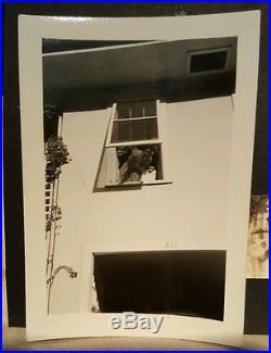 Vintage Unusual 711 Flat Girl Vernacular Photography Snapshot Artistic Old Photo