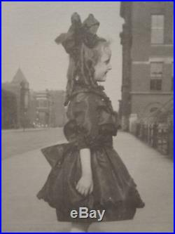 Vintage Vernacular Photo Photography Artistic Profile Elvera 1921 American Girl