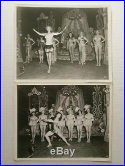 Vintage burlesque film EVERYBODY'S GIRL 1950 22 old publicity photos STRIPPERS