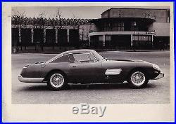 Vintage photo Ferrari 250 GT Pininfarina Prince Bernhard car auto PKW foto 1957