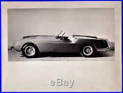Vintage photo Ferrari 250 GT Pininfarina roadster unique car auto PKW foto 1957