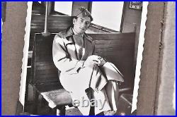 Vintage photo album 145 BW pics ATQ 1940s Post WW2 Damage Germany Europe WOW