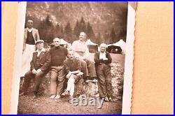Vintage photo album 379 BW pics ATQ 1950s-60s family Friends Candid Shot Amazing
