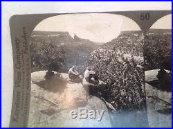 Vintage stereoview photos set of 100 of the United States by Keystone View co