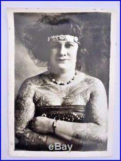 Vintage tattoo photographs original kobel