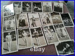 Vtg 3 Photo Albums 1000 Slides Tins And Pkgs Of Negative & Oversized Negatives