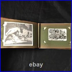 Vtg 40s Pinups Snapshot WW2 Risque Nude Spicy Amateur GI 50+ Photo Album Lot